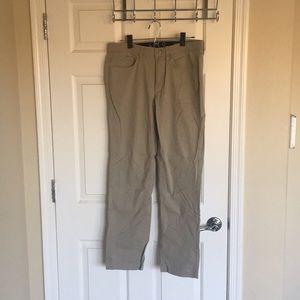 Men's tan pants
